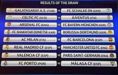 """16 Besar Liga Champions"""