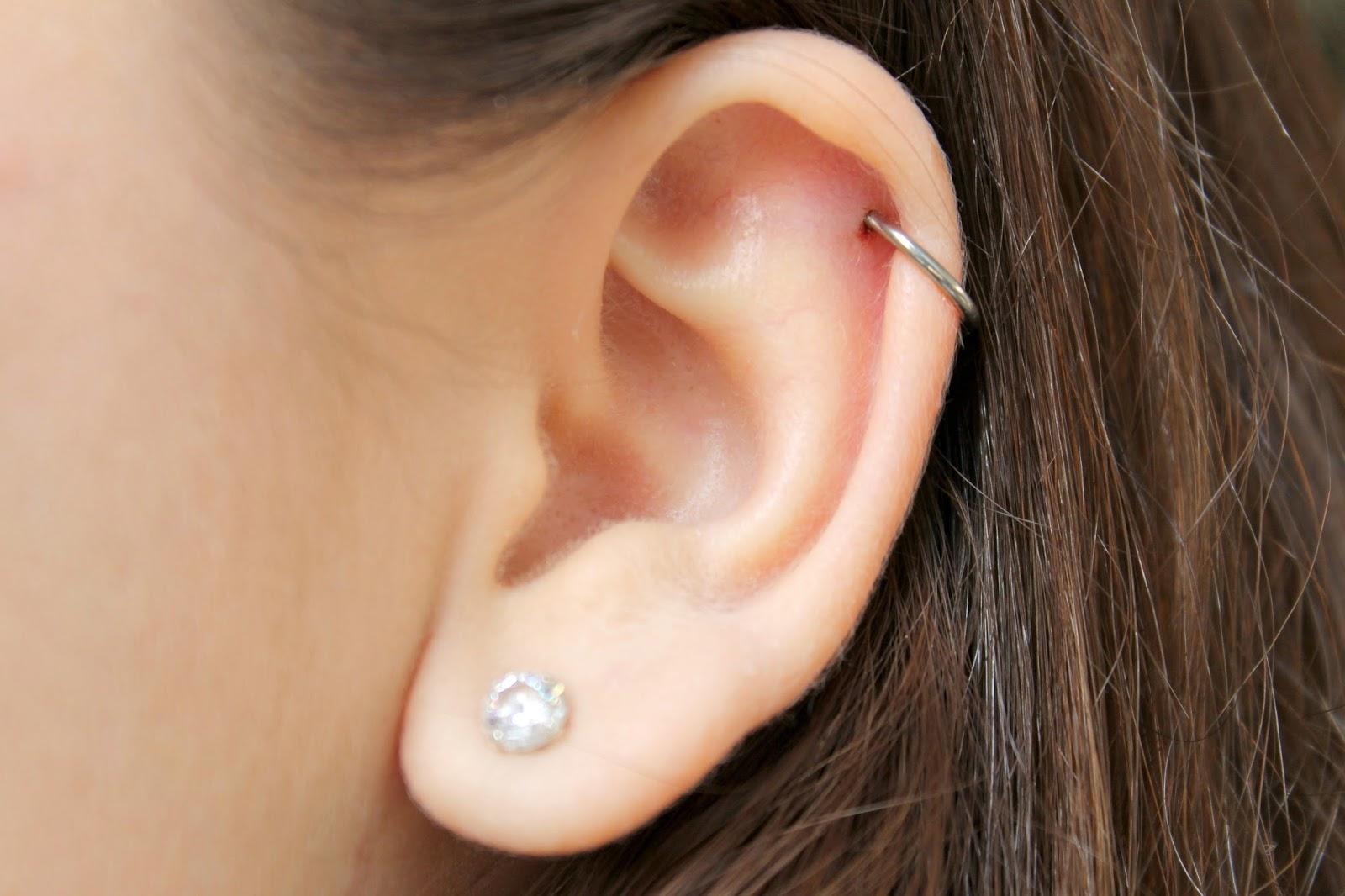 Helix piercing ringetje