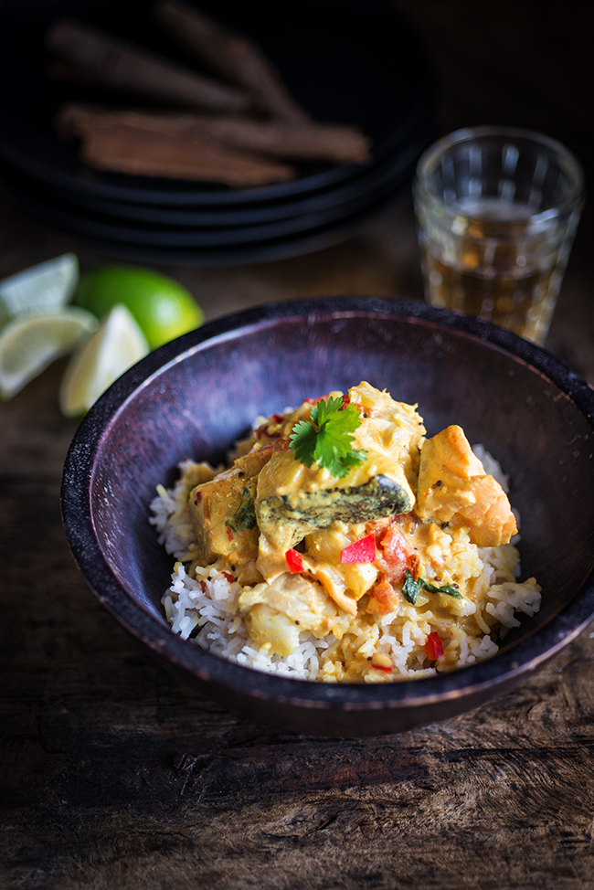 Photographing curry on William Reavell's Food Photography Course