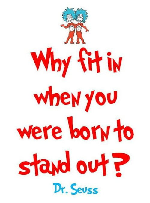 25 inspirational quotes by dr seuss the perfect line