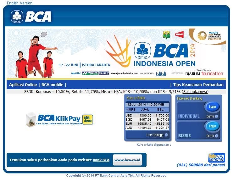 Cara daftar internet banking bca panduan dasar klikbca klikbca merupakan situs internet banking milik bca yang bisa diakses oleh nasabah untuk keperluan transaksi perbankan di internet stopboris Choice Image