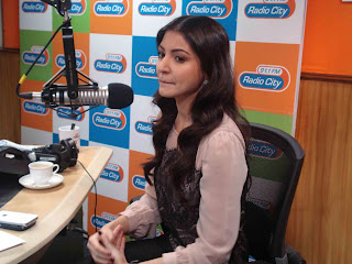 Anushka Sharma and Imran at Radio City 91.1 FM