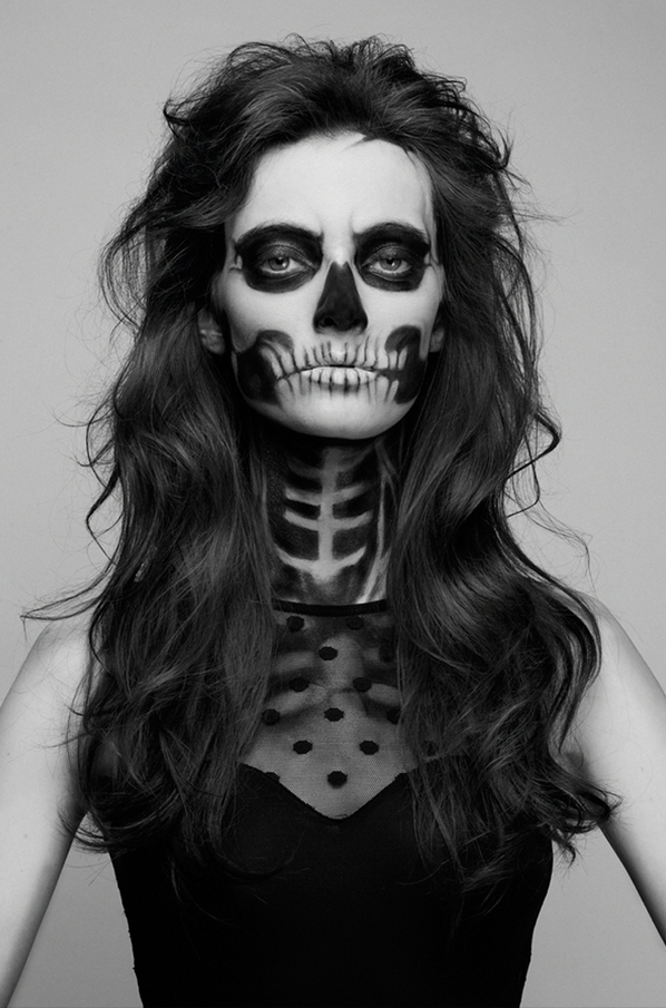 Gallery For &gt Skull Makeup Halloween - Skeleton Halloween Makeup