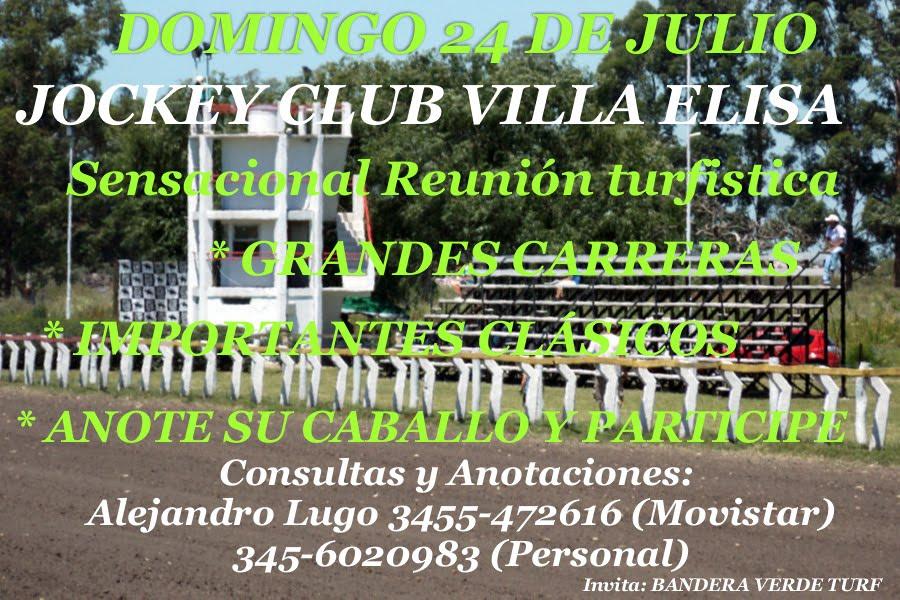 villa elisa - 24 de julio