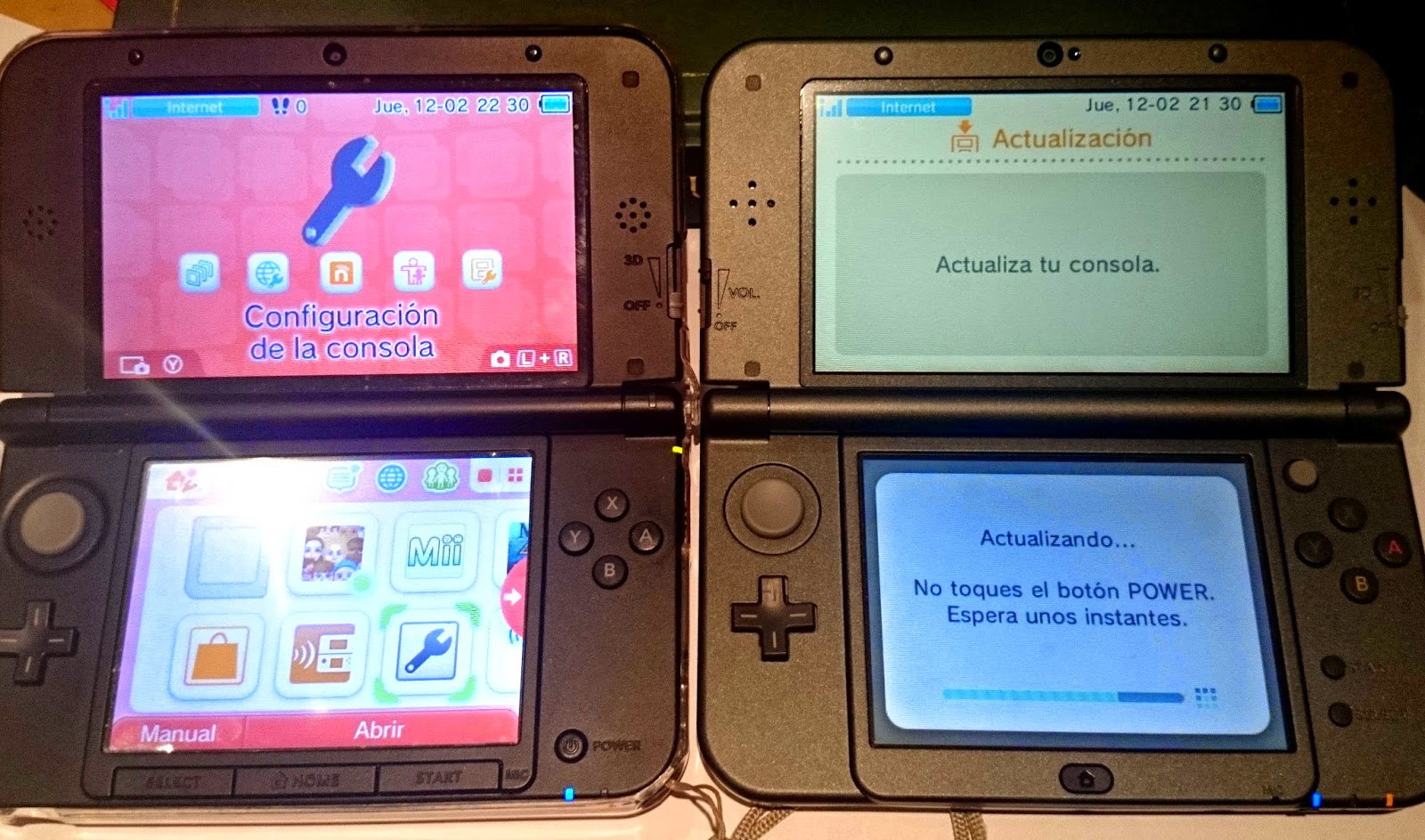 pasar datos 3ds a new 3ds