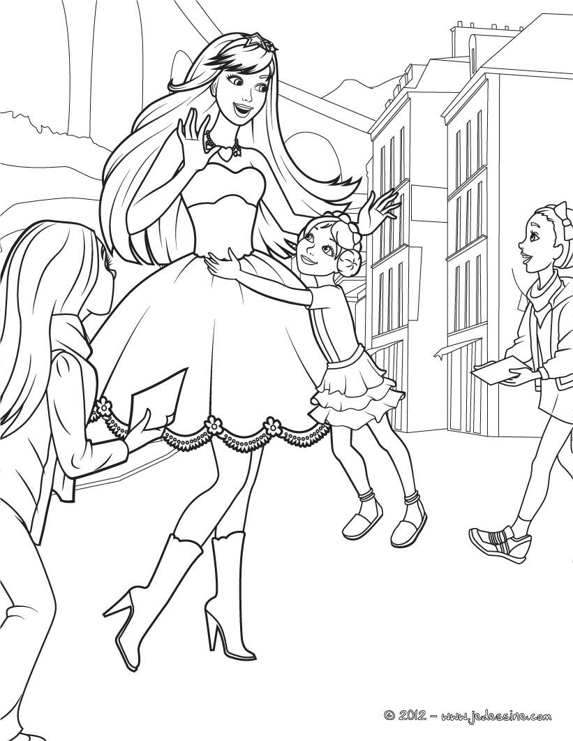 Dibujos Para Colorear De Barbie Y La Estrella De Pop ~ Ideas ...