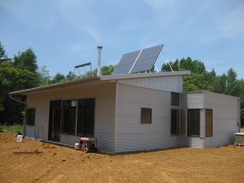 off grid zero energy passive prefab house kit off the