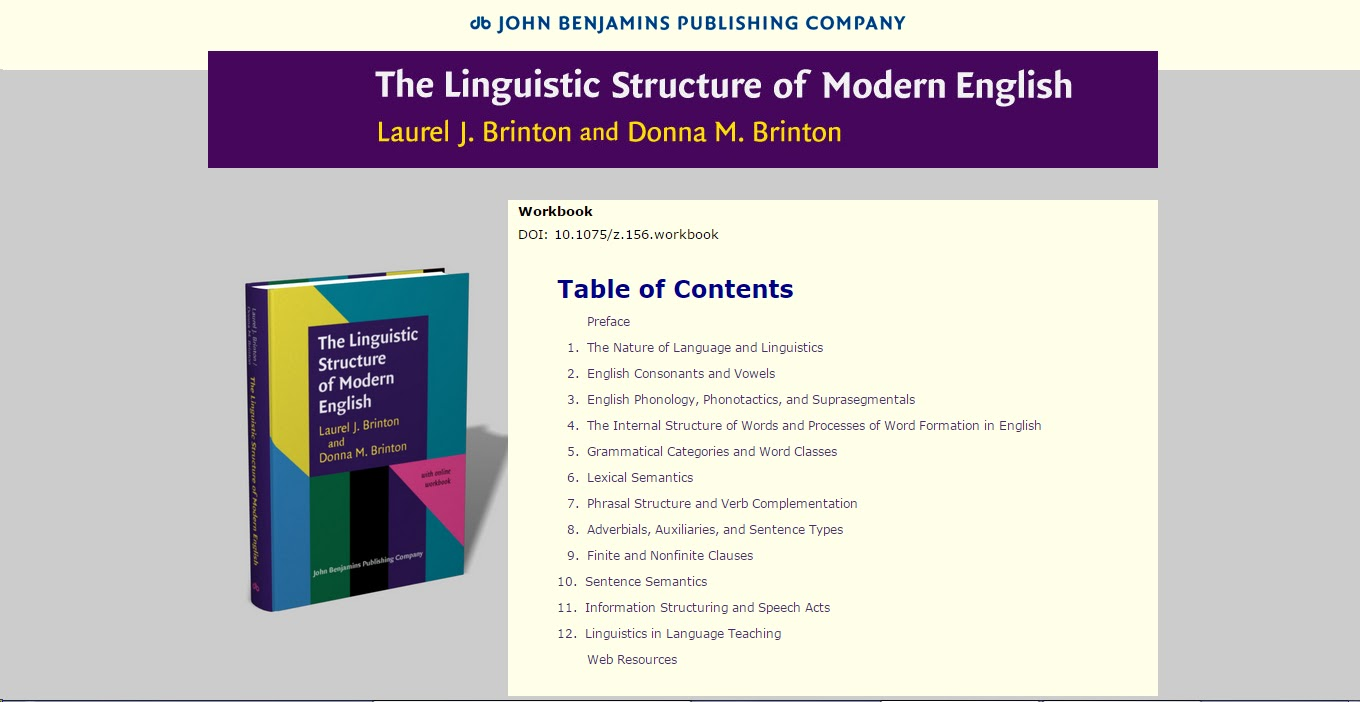 the structure of modern english language English language, west germanic language of the indo-european language family that is closely related to frisian, german, and dutch (in belgium called flemish) languages english originated in england and is the dominant language of the united states, the united kingdom, canada, australia, ireland, new zealand, and various island nations.