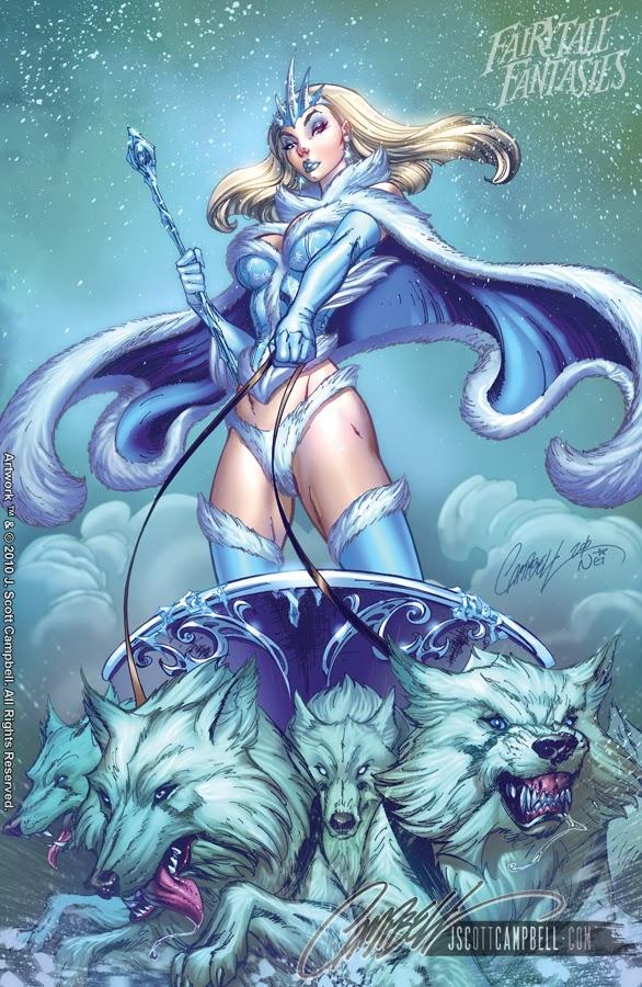 Snow Queen Fairytale Fantasies Disney