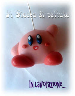 Portachiavi Kirby e Stella di Super Mario in lavorazione Kirby+copia