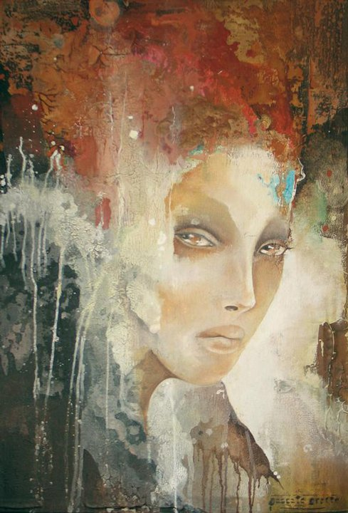 Pascale Pratte |Modern abstract portraits