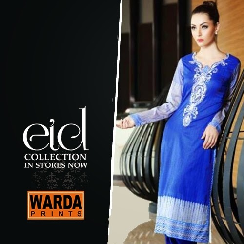 Warda Prints Eid Collection 2014