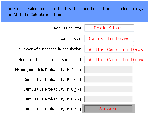 probability calculator drawing cards