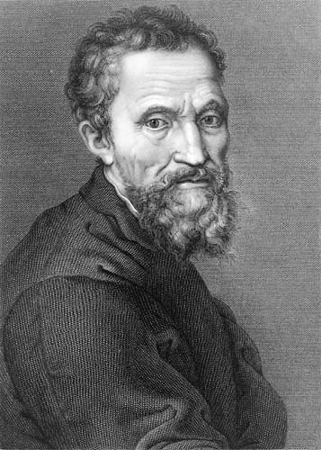 Blind Men and an Elephant: Michelangelo Buonarroti Michelangelo Portrait Raphael