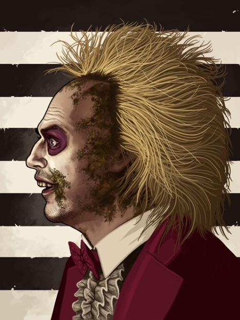 Beetlejuice by Mike Mitchell