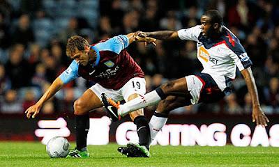 Aston Villa 0 - 2 Bolton Wanderers (1)