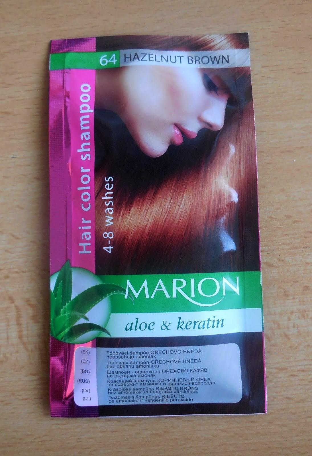 tonovací šampon na vlasy