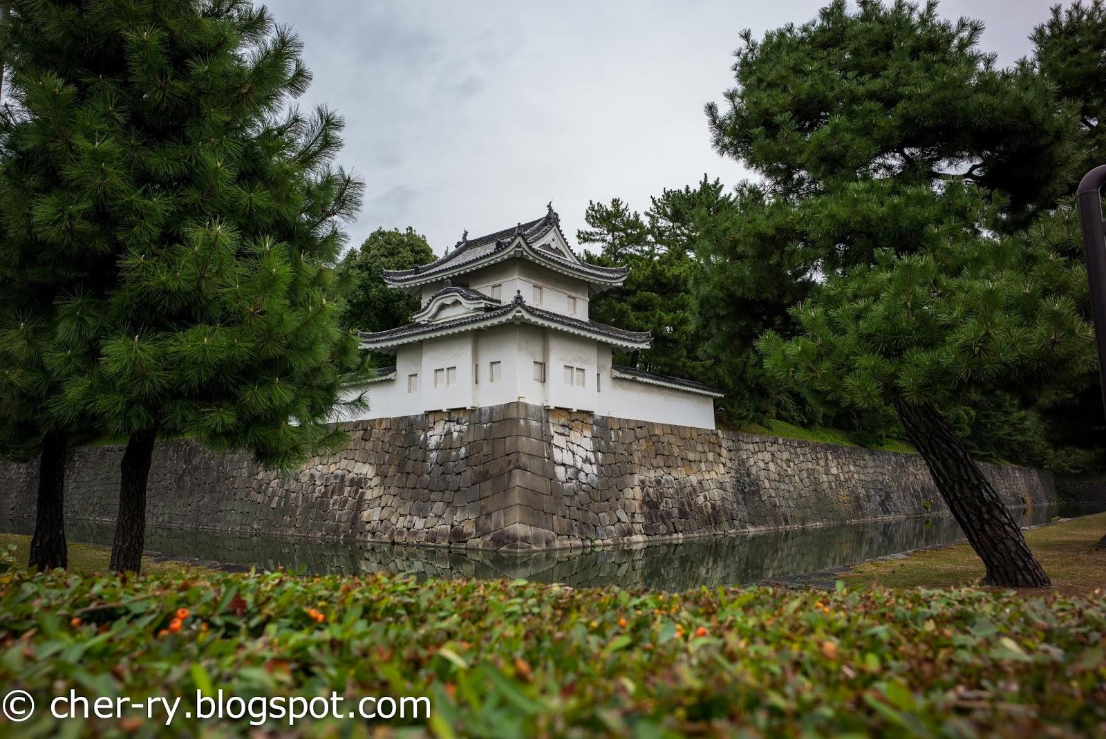 Life of a Lil Notti Monkey: Nijo Castle, Kyoto