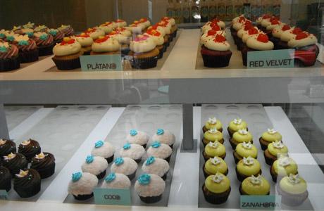 La Cupcakería, cupcakes