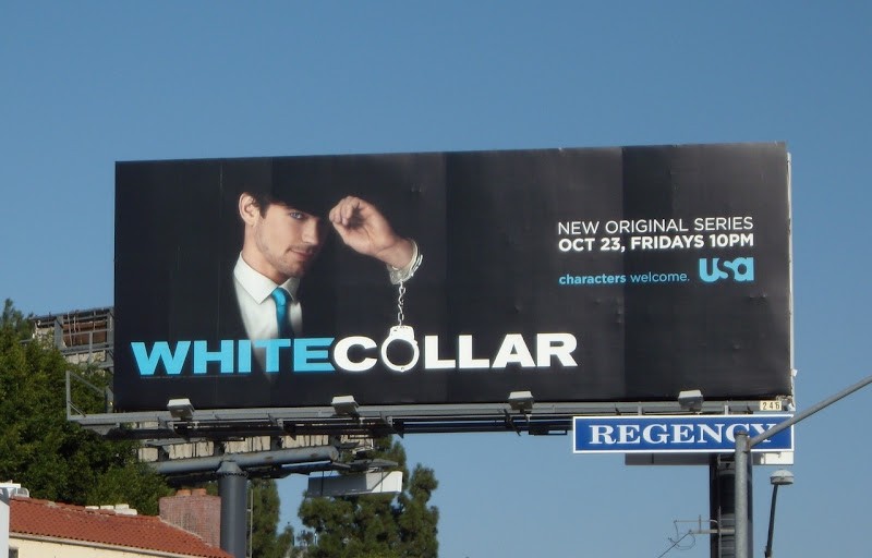 White Collar season 1 billboard