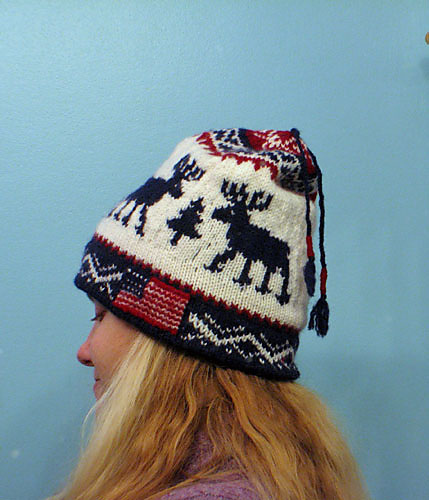 Knitting With Karma Winter Olympic Hat Pattern