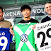 Wolfsburg apresenta o chinês Zhang, seu novo reforço para 2015