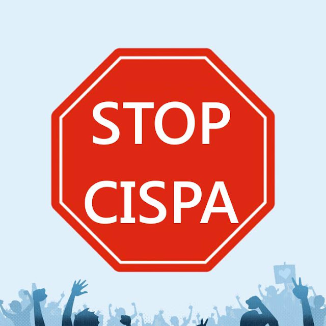 Espalhe: #EndCISPA Lei de Proteção e Compartilhamento de Inteligência Cibernética (CISPA)