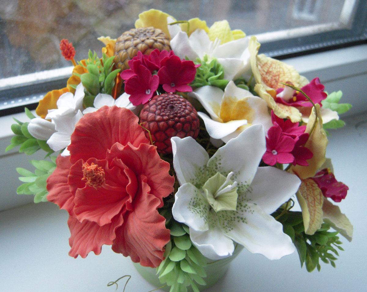 Букеты из экзотических цветов - купить в Москве букет из
