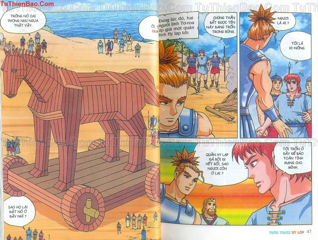 Thần thoại Hy Lạp Chapter 14 - Trang 22