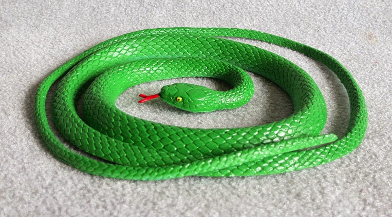 Toy Green Snake