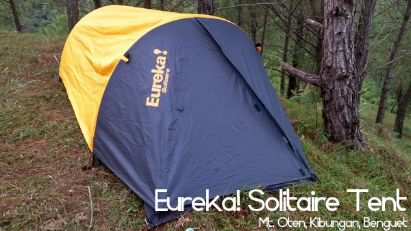 Self-containment is always a beautiful thing to achieve and often it is the tent that is the limiting factor. Iu0027ve always had two-man tents ... & Gear Review: Eureka! Solitaire Tent (Preliminary) - Pinoy Mountaineer
