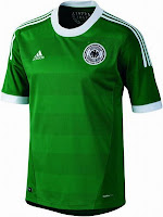 Euro 2012 Germany Away Jersey