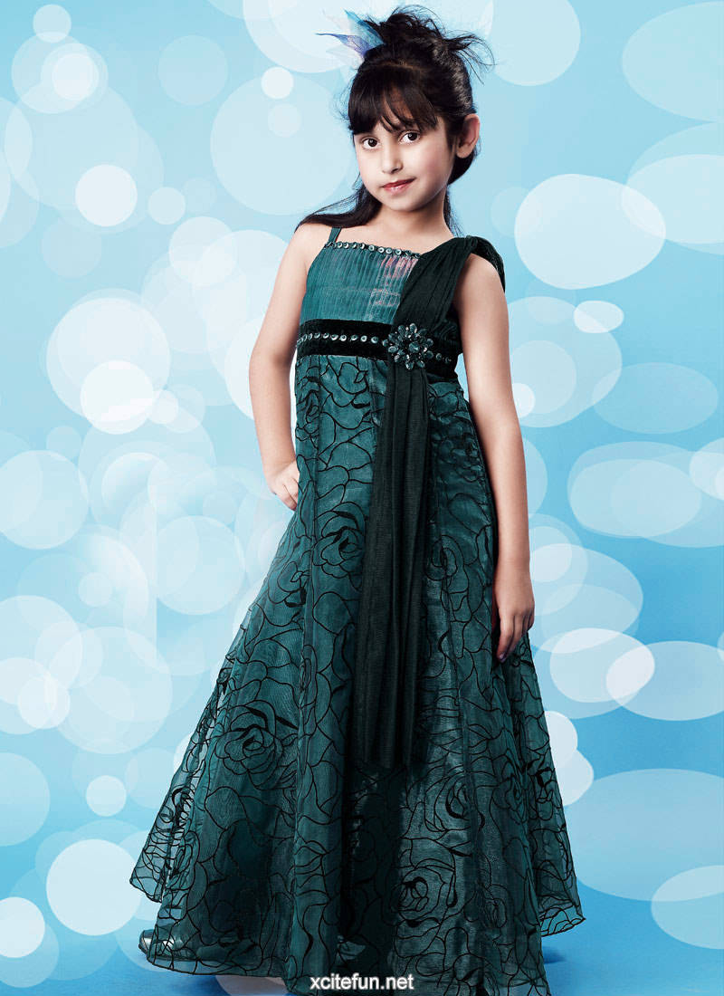 fashionfastival: Baby Girl Party Wear Dres