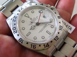 ROLEX EXPLORER II 40mm WHITE POLAR DIAL - ROLEX 16570 - SERIE K YEAR 2001 - MINTS CONDITION