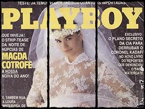 Magda Cotrofe Nua Na Revista Playboy Outubro 1987
