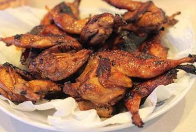 Fried Quail Bird in 5 Flavors - Chim Cút Chiên Ngũ Vị