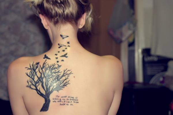 Awesome Tree of Life Tattoo Designs