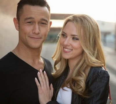 Still of Joseph Gordon-Levitt and Scarlett Johansson in 'Don Jon'