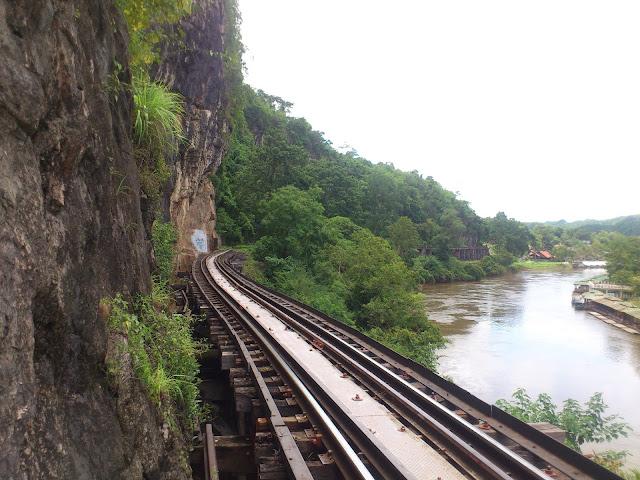 Дорога Смерти на реке Квай, Таиланд