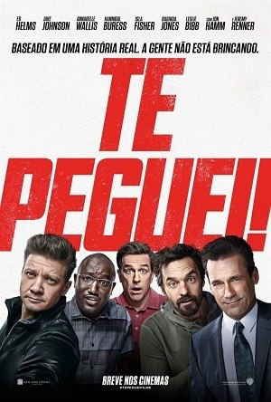 Te Peguei! Blu-Ray Filmes Torrent Download capa