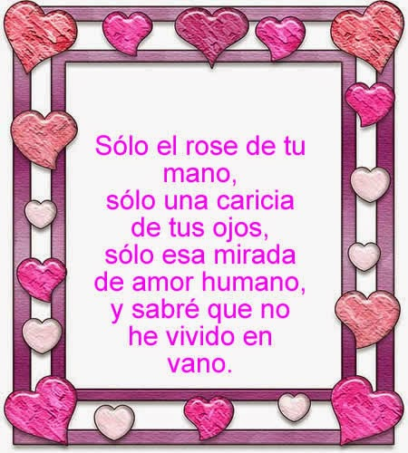Poemas De Amor Cortos Para El