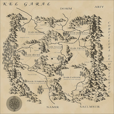 Mapa Kel Garal