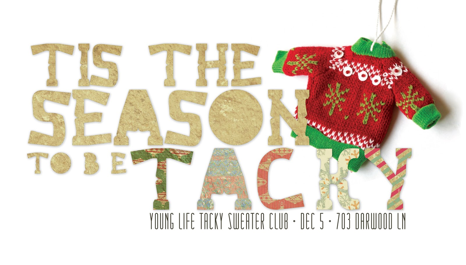 Tacky Cheap Christmas Sweaters