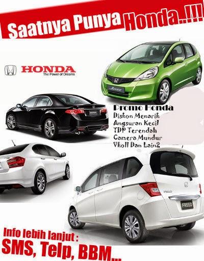 Honda Mobil gebyar Promo Hemat Cermat maret-april 2015 !!!