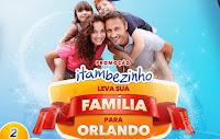 Promoção Itambézinho leva sua Família para Orlando