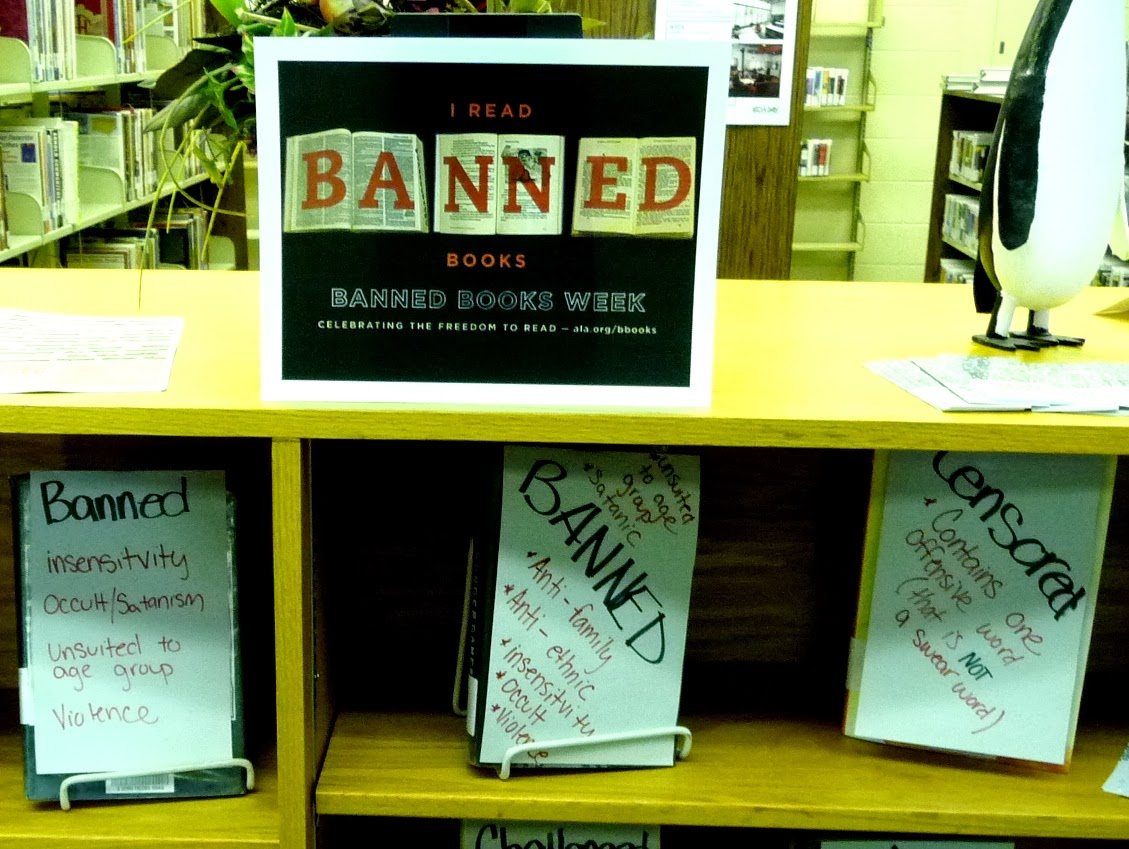 CENSORED The Story of Five Banned Books  Dorrance