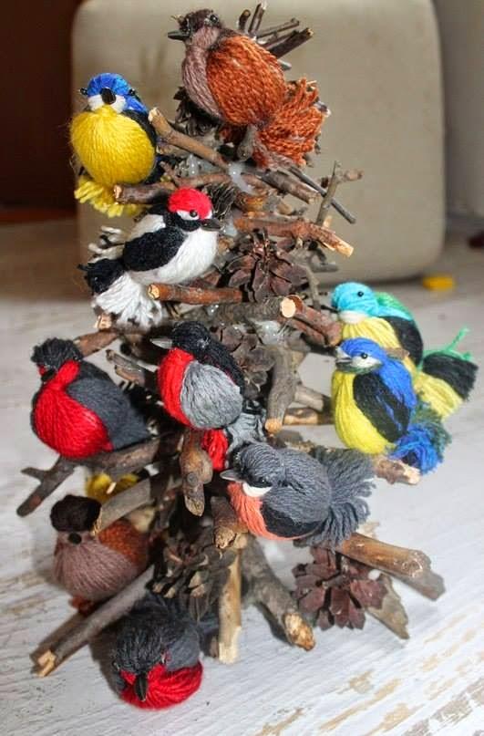 Поделки птицы сделанные своими руками