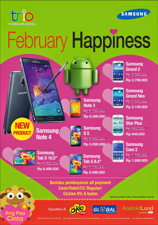 Samsung Februari Happiness Cashback Hingga Rp 500 Ribu