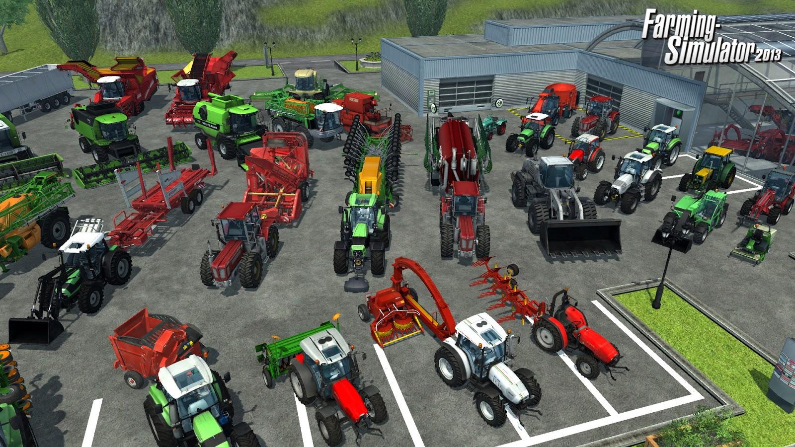 Farming Simulator 2013 Game - Free Download Full Version For PC