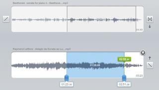 11 União de áudio online - Selecciomar trechos